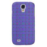 Simple dot pern blue galaxy s4 case