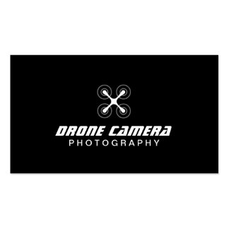 Simple Drone Camera Aerial Video & Photography Double-Sided Standard Business Cards (Pack Of 100)