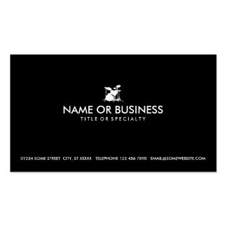 simple drums business cards