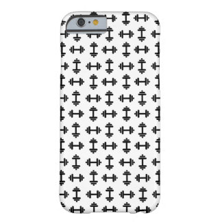 Simple Dumbbell Barely There iPhone 6 Case