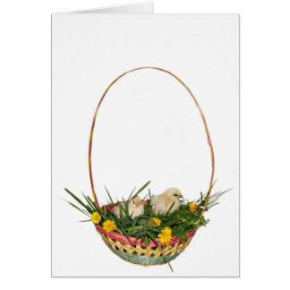 Simple Easter basket card