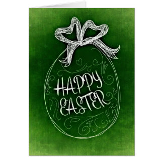 Simple Easter Egg Card