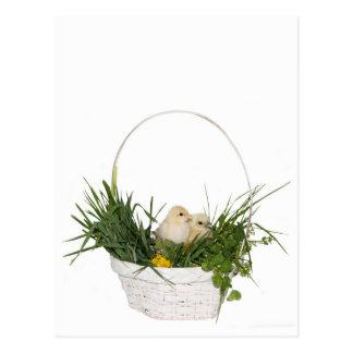 Simple Easter postcard