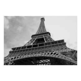 Simple Eiffel Tower Poster