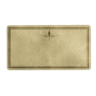 Simple Elegance Apothecary Label