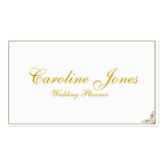Simple Elegance Double-Sided Standard Business Cards (Pack Of 100)