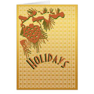 Simple elegance holiday card