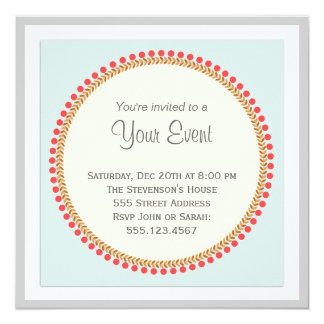 Simple Elegance Invitation