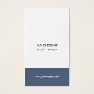 Simple Elegant Architect Construction Industry Business Card