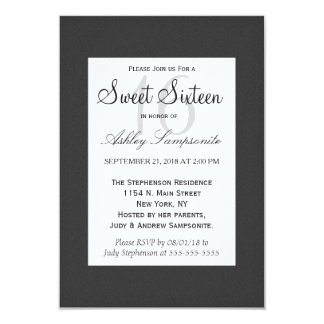Simple Elegant Black and White Design Card