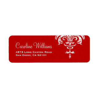 Simple Elegant Custom Return Address Label