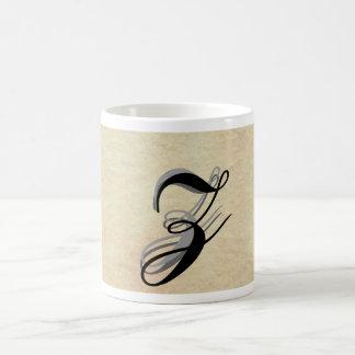 Simple Elegant Monograms - CricketDiane Coffee Mugs