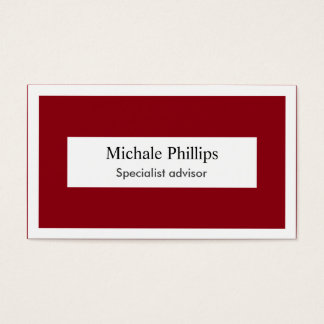 Red Target Business Cards & Templates | Zazzle