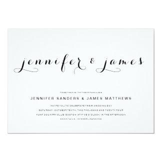 Awesome Simple Elegant Script | Modern Wedding Invitation