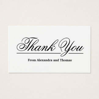 Thank you business cards thank you business cards best 25 business thank you cards ideas on colourmoves