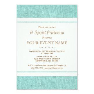 Simple Elegant Turquoise Blue, Stylish Card