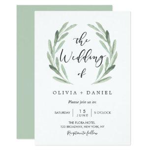 Simple Wedding Invitations Zazzle