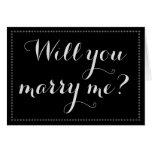 "[ Thumbnail: Simple & Elegant ""Will You Marry Me?"" Card ]"