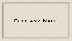 Embossed business cards templates zazzle simple embossed floral border business card reheart Image collections