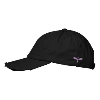 Simple Embroidered Dragonfly Baseball Cap