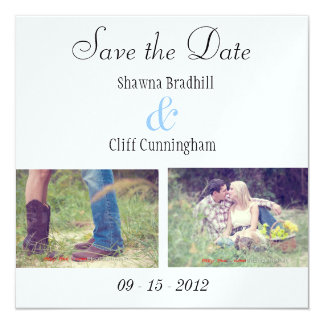Simple Engagement Cards