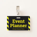 """[ Thumbnail: Simple """"Event Planner"""" Badge ]"""