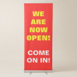 """[ Thumbnail: Simple Eyecatching """"We Are Now Open!"""" Banner ]"""