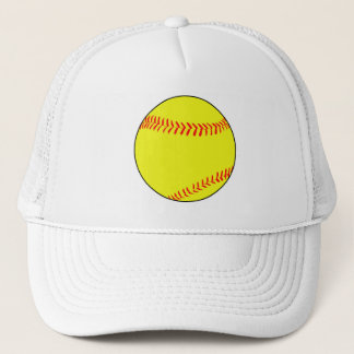 Simple Fastpitch Softball Trucker Hat