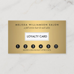 Punch Business Cards Templates Zazzle - Loyalty punch card template