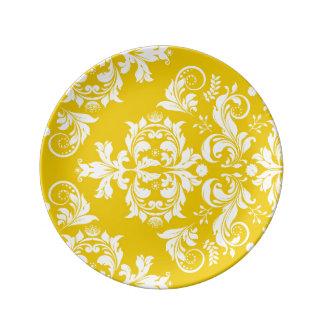 Simple feliz lujoso excepcional platos de cerámica