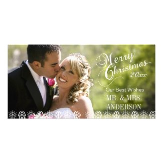 SIMPLE FIRST CHRISTMAS HOLIDAY PHOTO CARDS