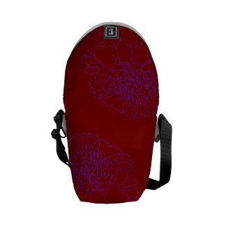 Simple Floral Marigold Courier Bag