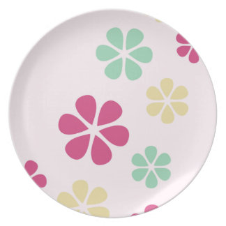 Simple Floral Plate