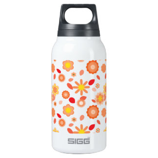 Simple Floral-sun kiss Insulated Water Bottle