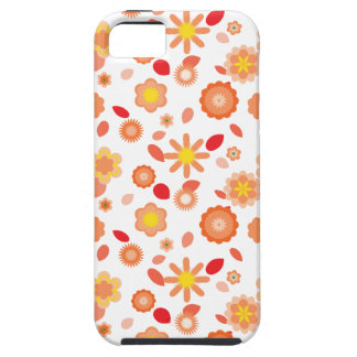 Simple Floral-sun kiss iPhone SE/5/5s Case