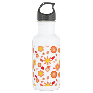 Simple Floral-sun kiss Water Bottle