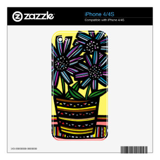 Simple Flourishing Conscientious Spirited iPhone 4S Skins