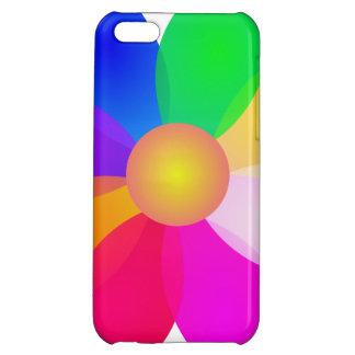 Simple Flower Art iPhone 5C Cases