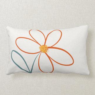 Simple flower pillow
