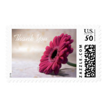 Simple Flower Sympathy Thank You Postage