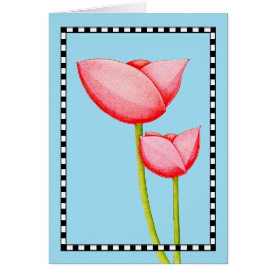 Simple Flowers Card