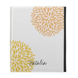 Simple Flowers iPad Case