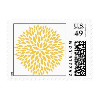 Simple Flowers Postage Stamp