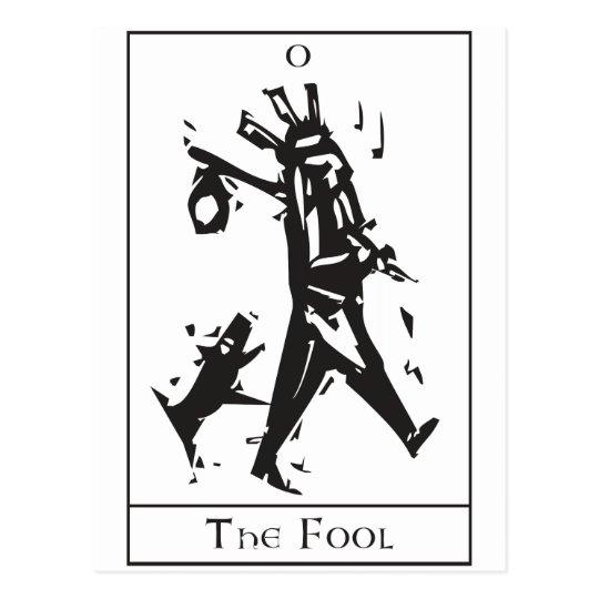 Simple Fool Tarot Postcard