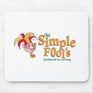 Simple Fool's Logo Mousepad