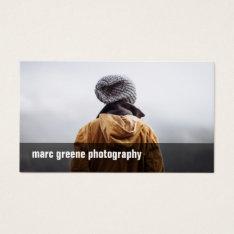 Simple Freelance Photographer Photography Photo Business Card at Zazzle