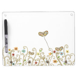 Simple Garden Dry-erase Board