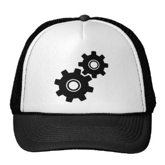 SImple Gears Cogs Trucker Hat