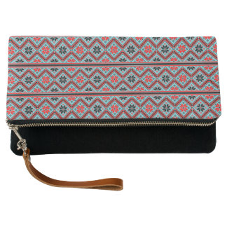 Simple Geometric Art Clutch Bag