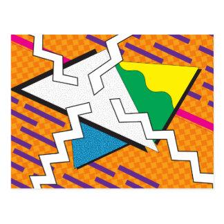 Simple Geometric Postcard